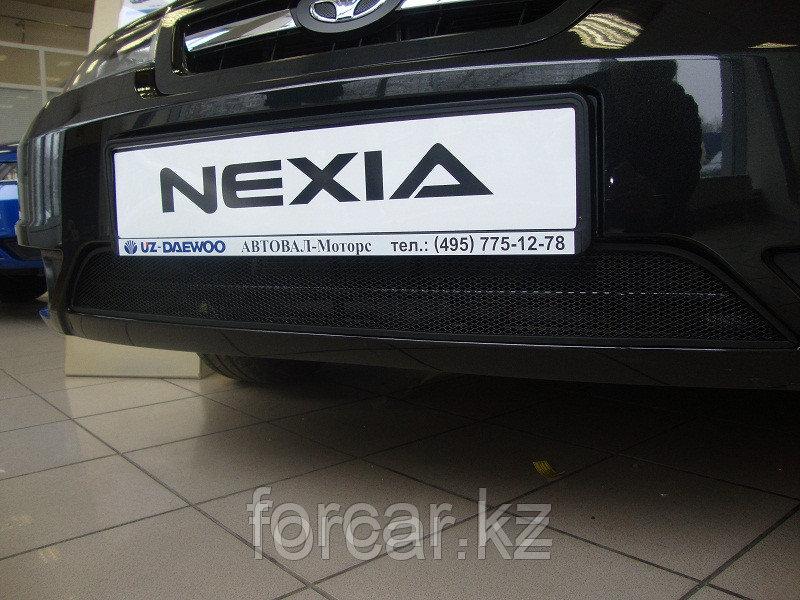 Защита радиатора Daewoo Nexia с 2010 - black