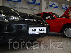 Защита радиатора Daewoo Nexia с 2010 - black, фото 3