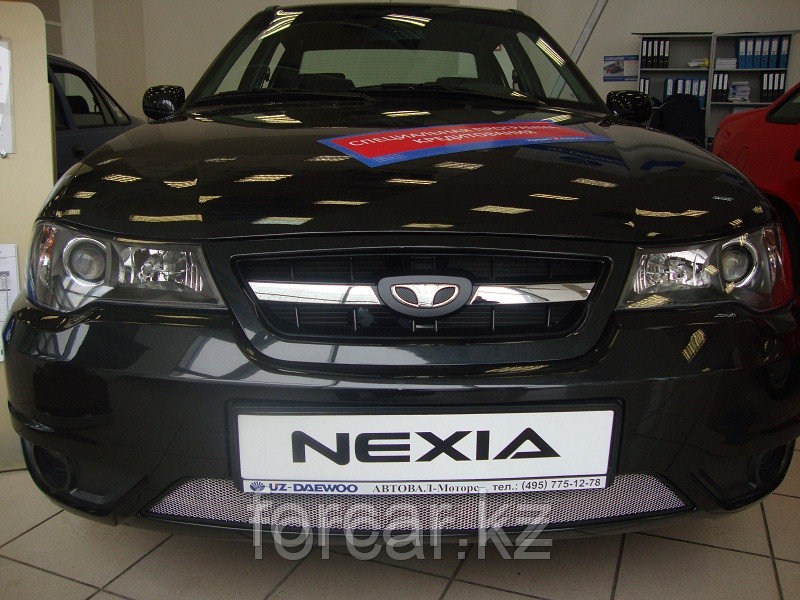 Защита радиатора Daewoo Nexia с 2010 - chrome