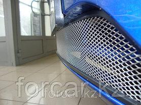 Защита радиатора Daewoo Nexia с 2010 - chrome, фото 3