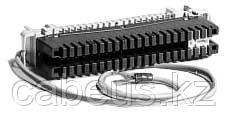 Krone 6089 2 108-01 Плинт заземления, LSA PROFIL, 2/34, корпус красный