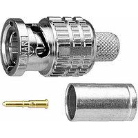 Canare BP-C4 Разъем RCA, под обжим на кабель Canare RG-58C/U, RG-58A/U
