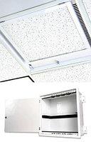 Siemon ZU-C4P-T02 Бокс для фальш-потолка Passive Ceiling Zone Enclosure, 4U, белый, защелка, 8 пластиковых