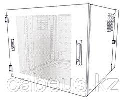 Siemon WC2-V101-12 Шкаф настенный, шириной 736 мм, глубиной 610 мм , вентилируемая дверь с замком, черный, 12U