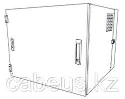 Siemon WC2-S101-12 Шкаф настенный, шириной 736 мм, глубиной 610 мм , сплошная дверь с замком, черный, 12U