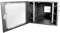 Siemon WC3-P101-24 Шкаф настенный, шириной 736 мм, глубиной 762 мм , дверь из плексигласа с замком, черный,