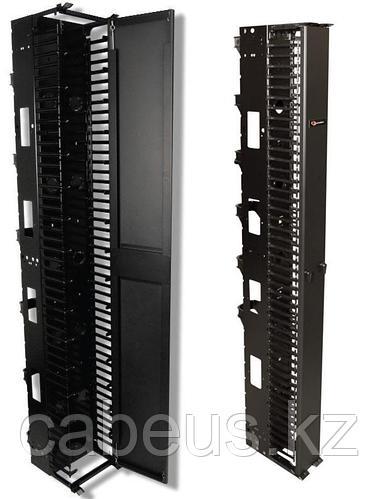 Siemon VPCA-12 Вертикальный канал коммутации 2,1 м x 305 мм (включает переднюю крышку,12 тыльных кабельных