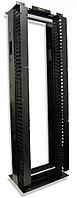 Siemon RS3-07-S Открытая стальная стойка 45U (2100 мм), шириной (685 мм), глубиной (457,2 мм), с боковыми