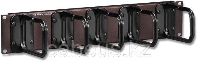 """Siemon WM-144-5 19"""" 2U Горизонтальный органайзер с 5 держателями S144"""