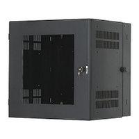 PANDUIT PZC12W Настенный шкаф 12U с прозрачной дверью, размеры: 655,6 мм x 635,0 мм x 580,4 мм