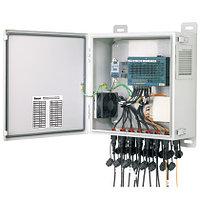 PANDUIT IAEFKSP Комплект для ввода оптического кабеля. 2 ввода в коммутатор. Включает все компоненты IP67,