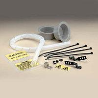PANDUIT CUFF-KIT Комплект для ввода оптического кабеля: 4 кабельных стяжки Pan-Ty™, 4 места для проводов, 2