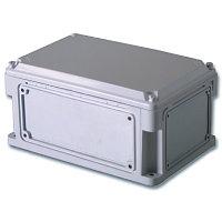 DKC / ДКС 542210 Корпус ударопрочный с выбивными фланцами и непрозрачной крышкой, 400х200х146мм (ДхШхВ),