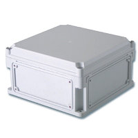 DKC / ДКС 531310 Корпус ударопрочный с выбивными фланцами и непрозрачной крышкой, 300х150х160мм (ДхШхВ),