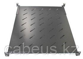 "Hyperline TSDY-1U-740-RAL9004 Полка с 19"" креплением, 1U, глубиной 740мм(W482.6xD740xH44) для шкафов глубиной"