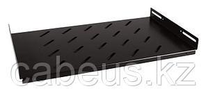 Hyperline TSHS-450-RAL9004 Полка глубиной 290 мм для настенных шкафов глубиной 450 мм (до 60 кг), цвет черный