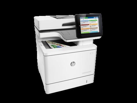 МФУ HP Color LaserJet Enterprise M577dn (Лазерный A4 Цветной USB Ethernet Планшетный) B5L46A