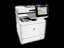 МФУ HP Color LaserJet Enterprise MFP M577F (Лазерный A4 Цветной USB Ethernet Планшетный) B5L47A