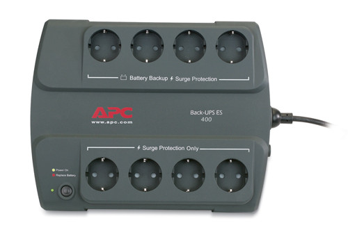 ИБП APC/BE400-RS/Back/Line Interactiv/Schuko/400 VА/240 W