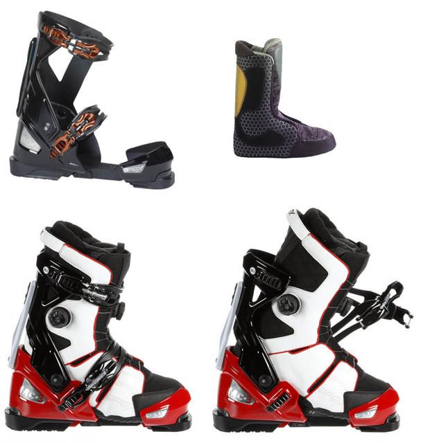 Ботинки для сноуборда, лыж
