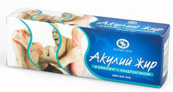 Крем Акулий жир с хондроитином . Оригинал
