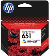 Струйный картридж HP 651 (Оригинальный, Цветной) C2P11AE