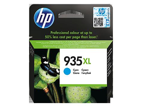 Струйный картридж HP 935XL (Оригинальный, Голубой - Cyan) C2P24AE