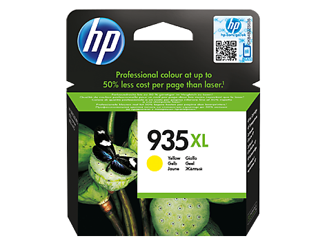 Струйный картридж HP 935XL (Оригинальный, Желтый - Yellow) C2P26AE