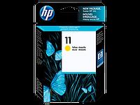 Струйный картридж HP 11 (Оригинальный, Желтый - Yellow) C4838A