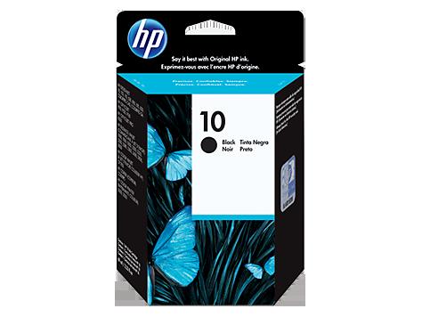 Струйный картридж HP 10 (Оригинальный, Черный - Black) C4844A