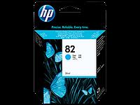 Струйный картридж HP 82 (Оригинальный, Голубой - Cyan) C4911A