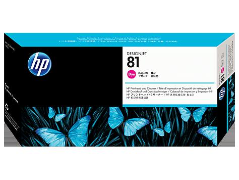 Печатающая головка HP 81 Magenta C4952A