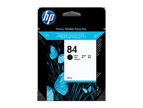 Струйный картридж HP 84 (Оригинальный, Черный - Black) C5016A