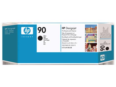 Печатающая головка HP 90 (Черный - Black) C5054A