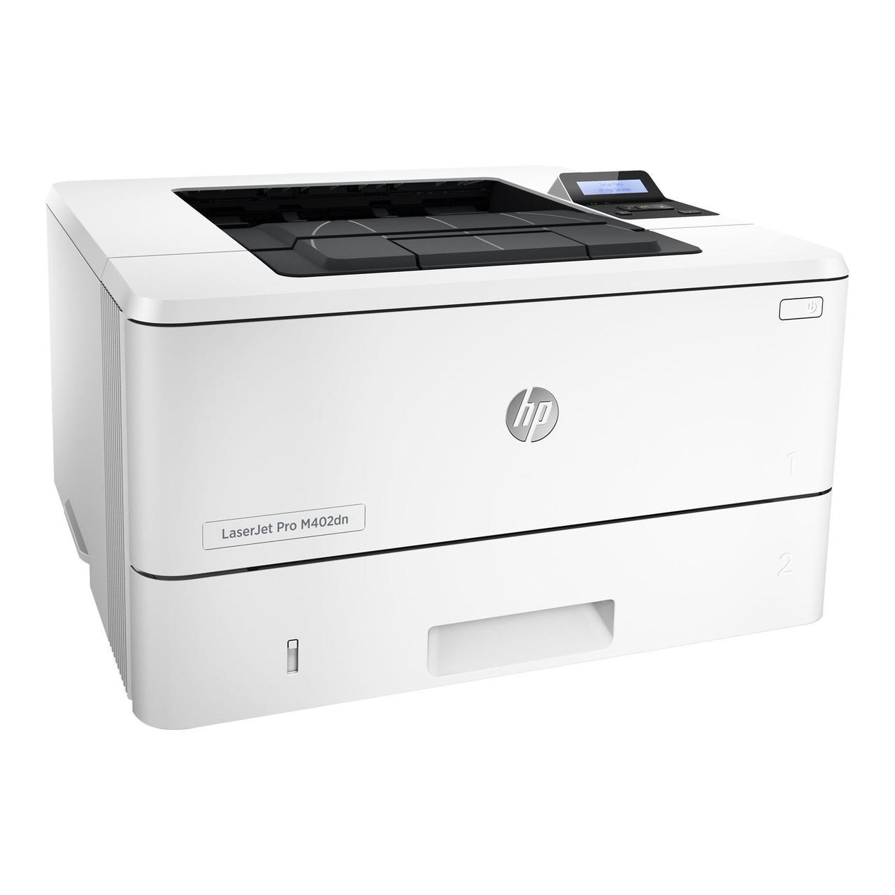 Принтер HP LaserJet Pro M402dne B (А4, Лазерный, Монохромный (черно - белый), USB, Ethernet) C5J91A