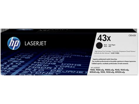 Лазерный картридж HP 43X (Оригинальный, Черный - Black) C8543X