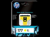 Струйный картридж HP 177 Y (Оригинальный, Желтый - Yellow) C8773HE