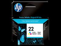 Струйный картридж HP 22 (Оригинальный, Цветной) C9352AE