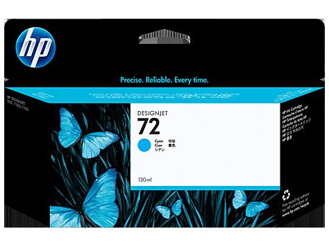 Струйный картридж HP 72 (Оригинальный, Голубой - Cyan) C9371A