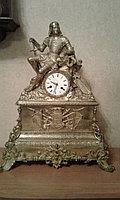 """Антикварные каминные часы """"Крестоносец"""""""