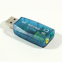 USB 3D Sound (Внешняя звуковая карта) , Алматы