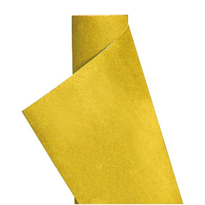 Пленка декор (вельвет желтый) (1.35м х15м)