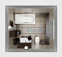 Акриловая гидромассажная ванна. Медея (Общий массаж), фото 2