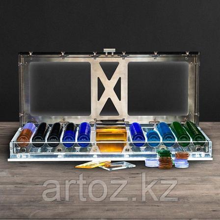 Набор для игры в покер Спектр с подсветкой  Spectrum Poker Set With Led, фото 2