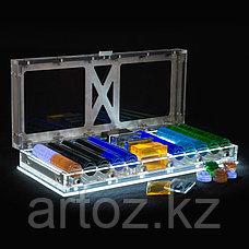 Набор для игры в покер Спектр с подсветкой  Spectrum Poker Set With Led, фото 3