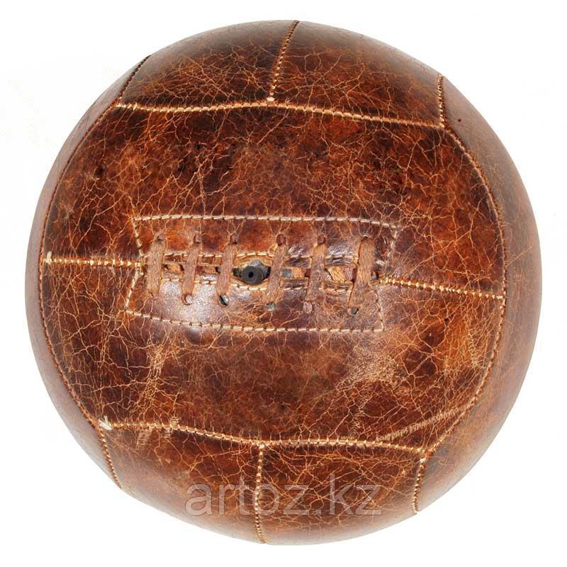 Футбольный мяч, кожаный  Football