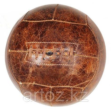 Футбольный мяч, кожаный  Football, фото 2