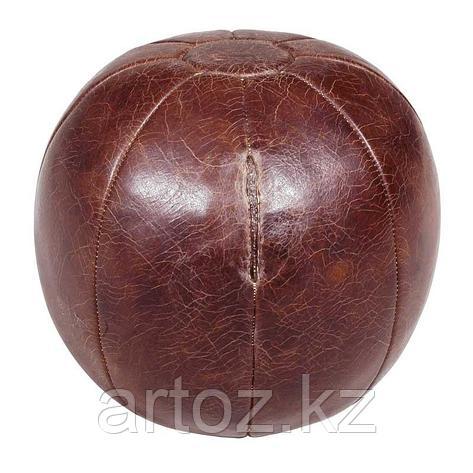 Медицинский мяч, кожаный  Medicine Ball, фото 2