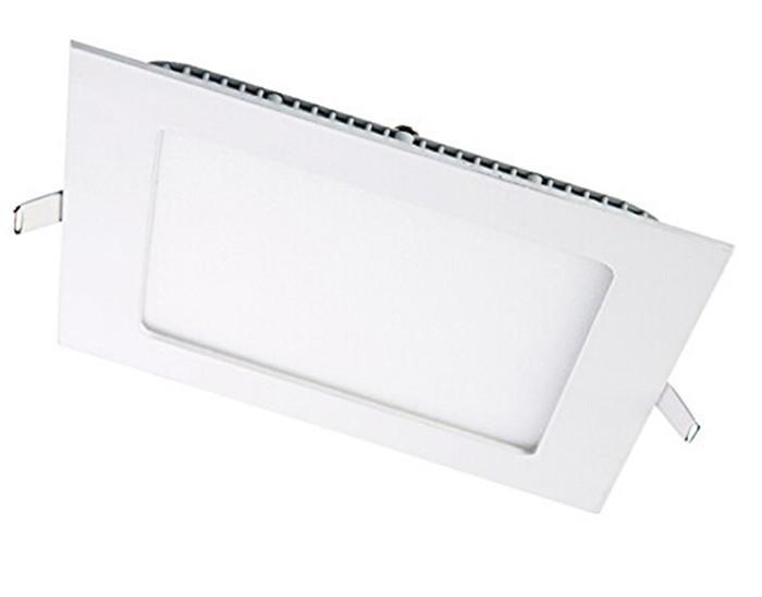 Светильник LED 9W квадрат встроенный