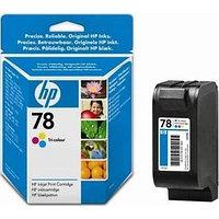 Картридж HP Europe/C6578DE/Чернил/№78/трехцветный/19 мл